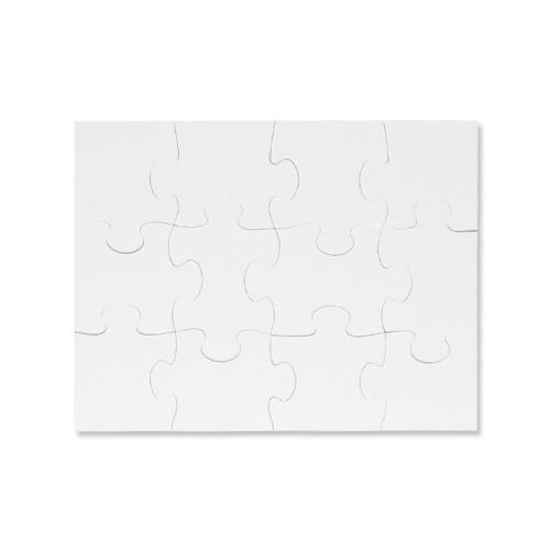 Puzzle A4 detske 12 dílku